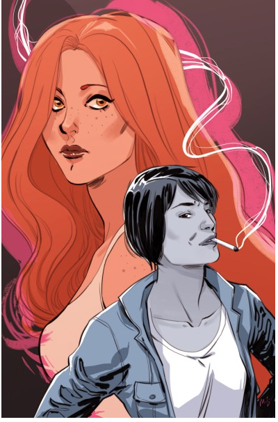 WORK FOR A MILLION -- BEDSIDE PRESS - Amanda is currently adapting the lesbian detective noir Work For A Million by Eve Zaremba into a Graphic novel by the same name for Bedside Press.https://www.hollywoodreporter.com/heat-vision/lost-lgbt-pulp-classic-work-a-million-returning-bedside-press-1176068