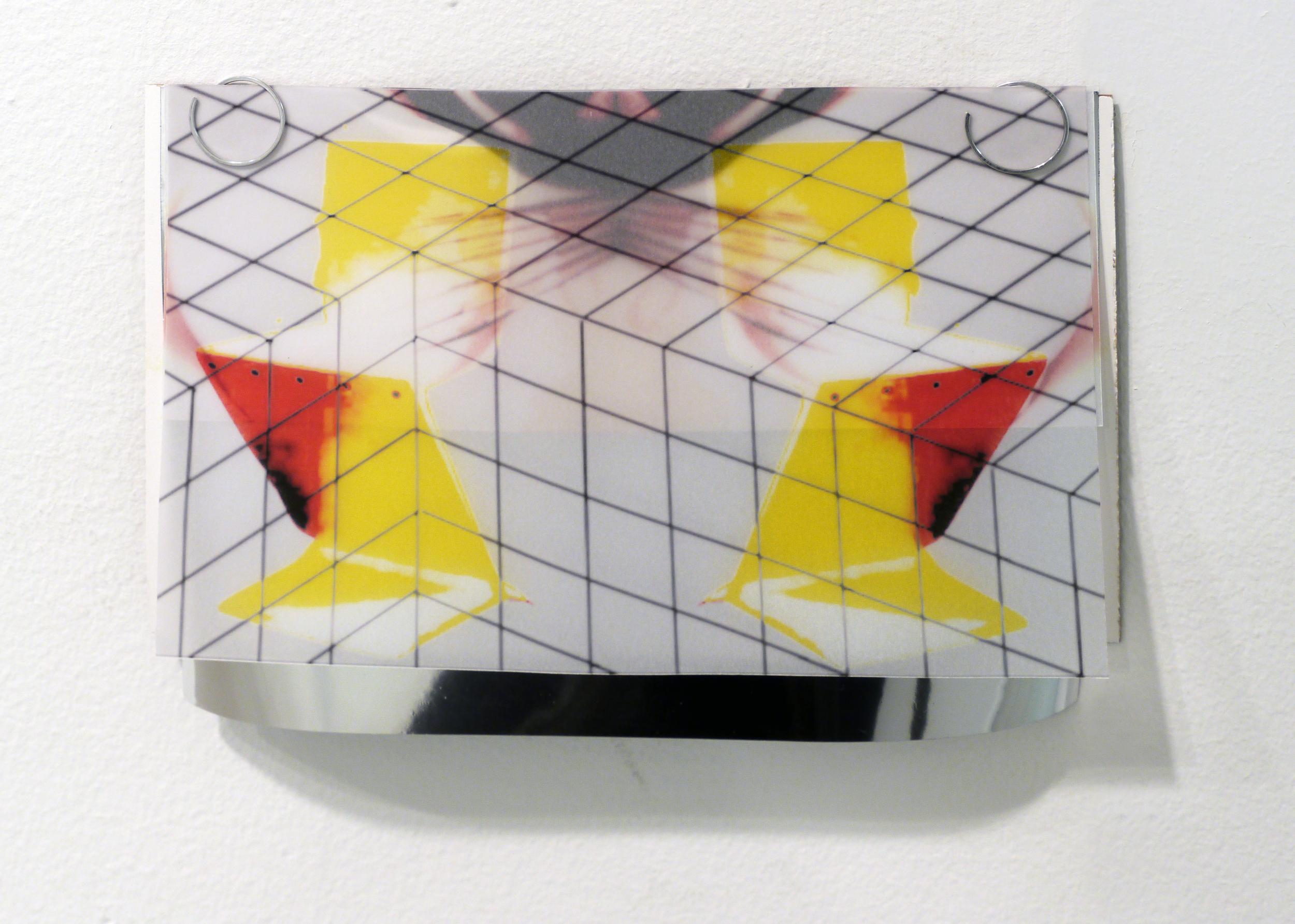 "Diana Puntar. untitled. mixed media. 8.5"" x 6"".2013."
