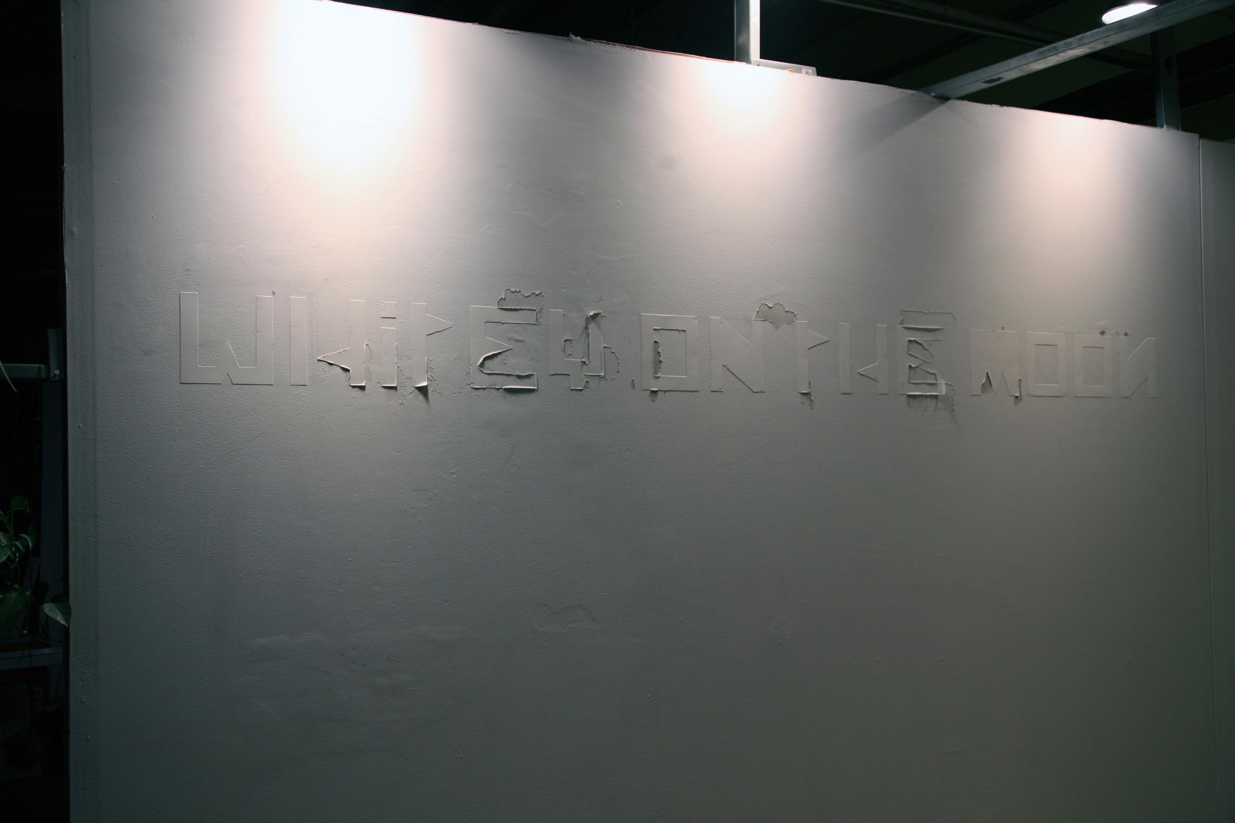 Title Wall. Mitchell Wright.