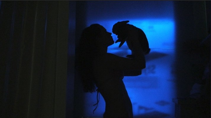 Laurel Nakadate.  Fever Dream with Rabbit.  Video.  2009