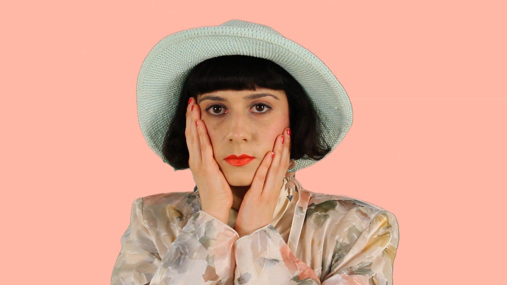 Renata Vase Vignette   Monitor, HD Video, Canvas, Bed Sheet, Vase, Acrylic  2015