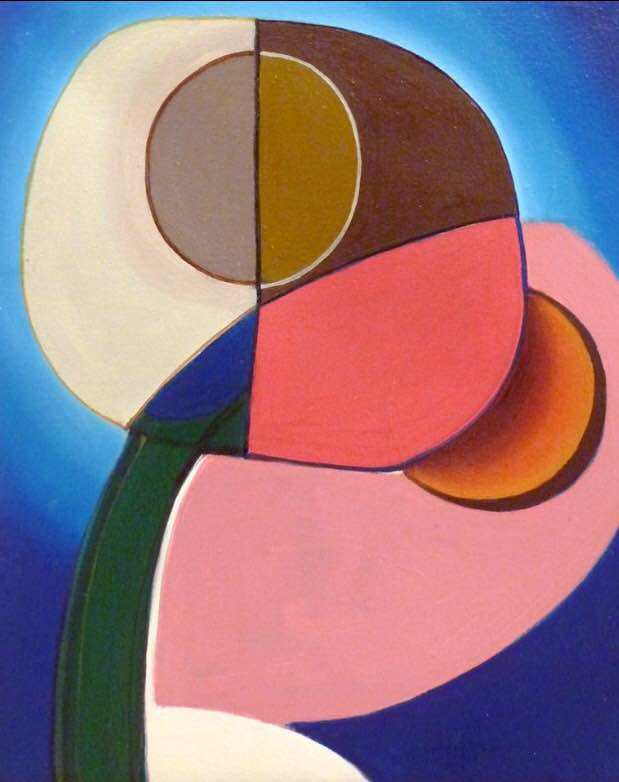 Bryan Osburn. Untitled. Oil on canvas. 14 inches x 12 inches. 2012