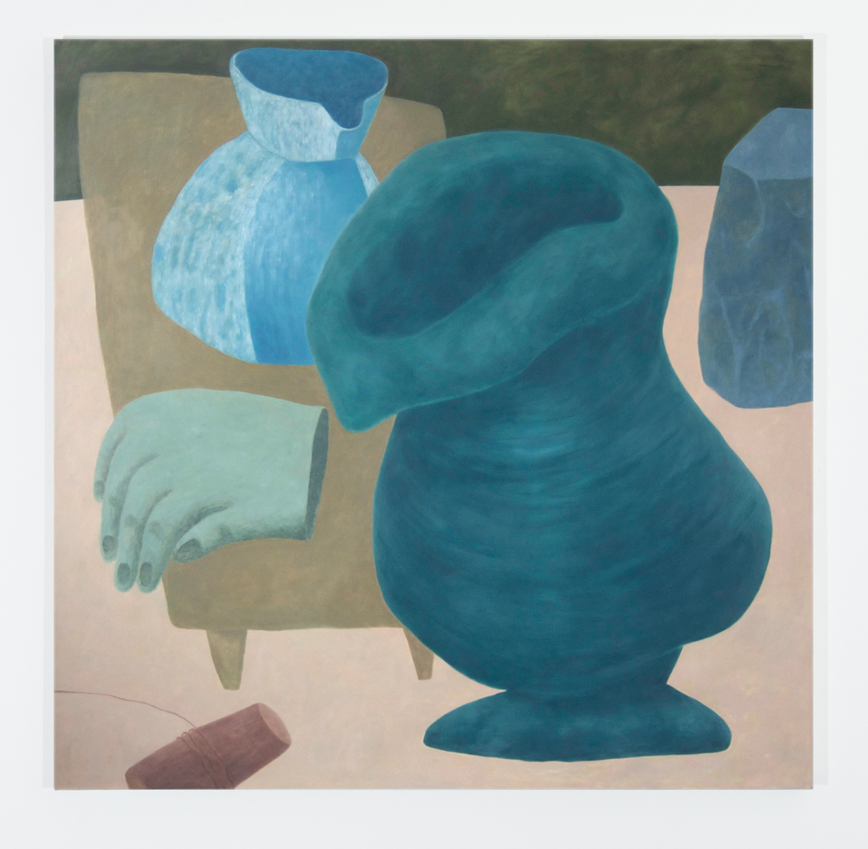 Droopy Vase  55 inches x 55 inches  Oil on canvas  2015
