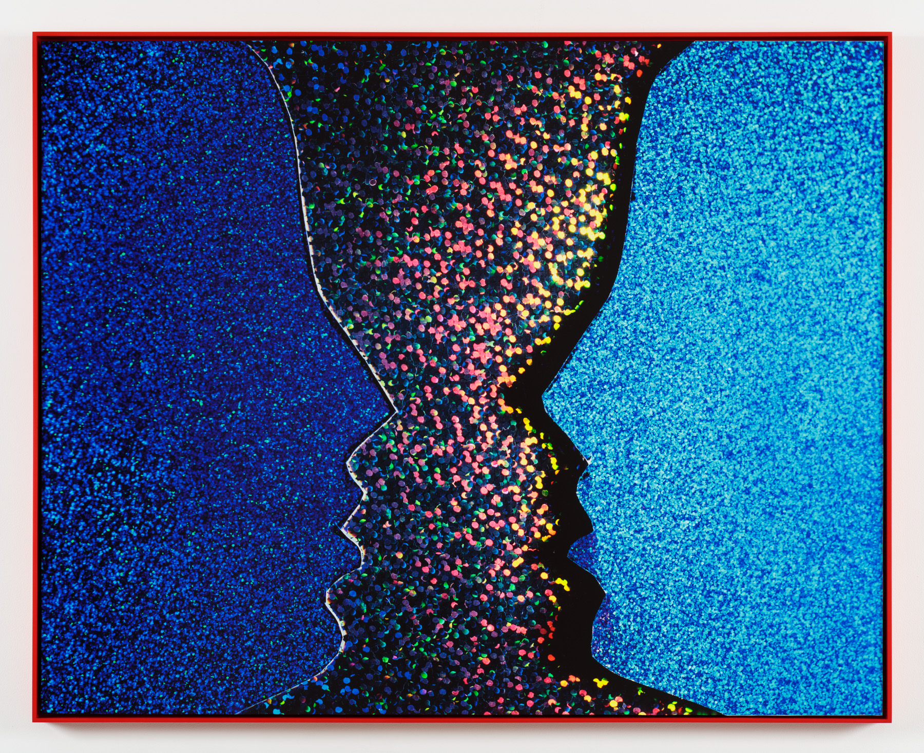 Face 2 Face   Archival Inkjet Print  40 x 50 inches  edition of 3 + AP  2016