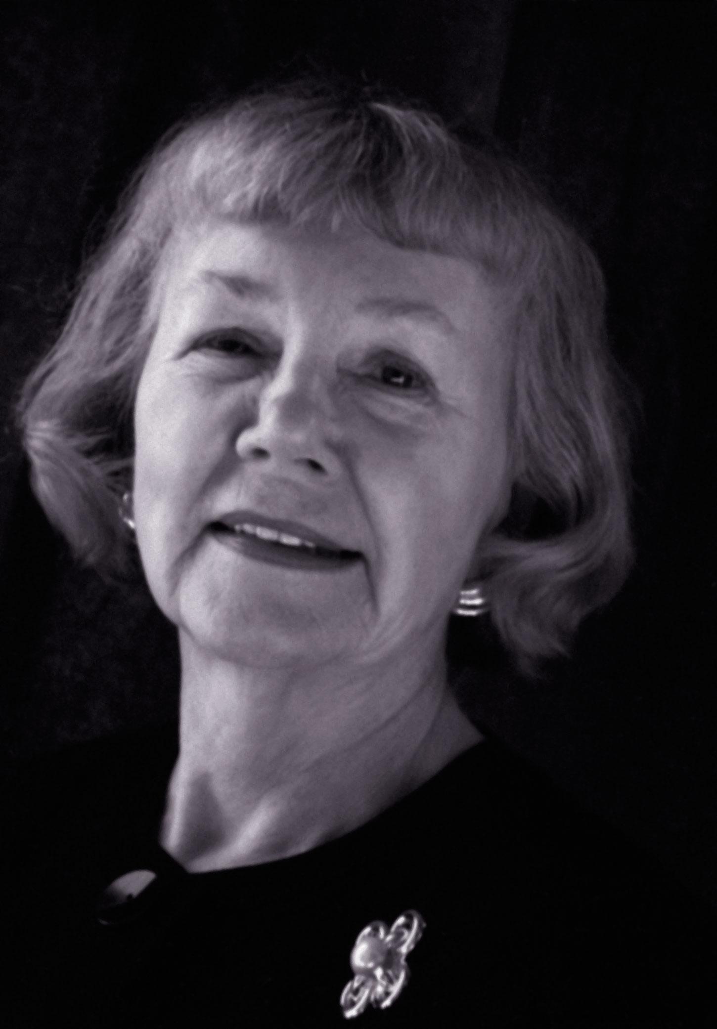 Betty Eichenberger Adams (1931–2013), photo courtesy David Eichenberger.