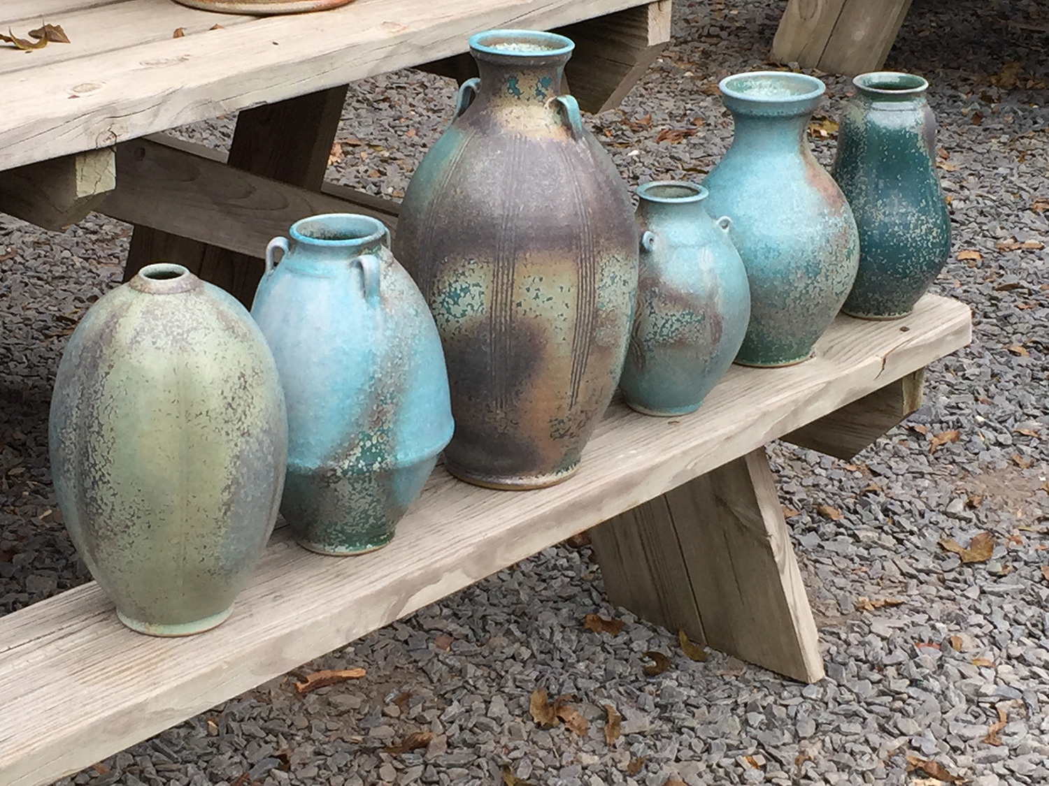 Design Story Works' past project: this website for Ben Owen Pottery. Click here to visit the site. Photo of wood-fired vessels by Ben Owen in Seagrove, North Carolina © 2017 Design Story Works LLC