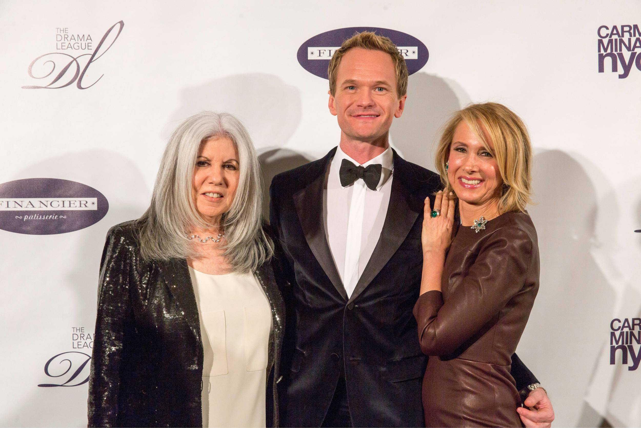 Ellen Fox, Neil Patrick Harris, Amy Eller - Drama League Gala 2014