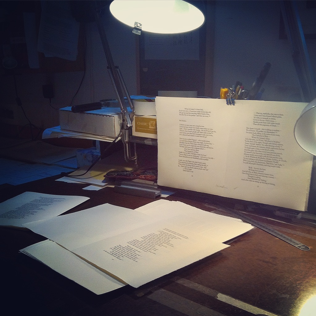 - proofing pages