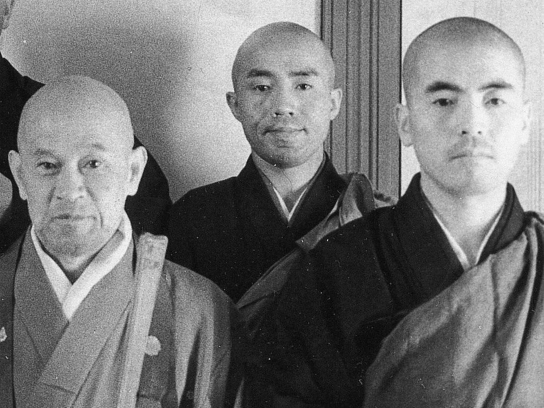 Shunryu Suzuki, Kobun Chino Otagawa, Dainin Katagiri