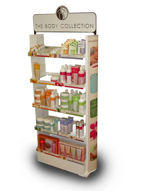 Body Collection floorstand