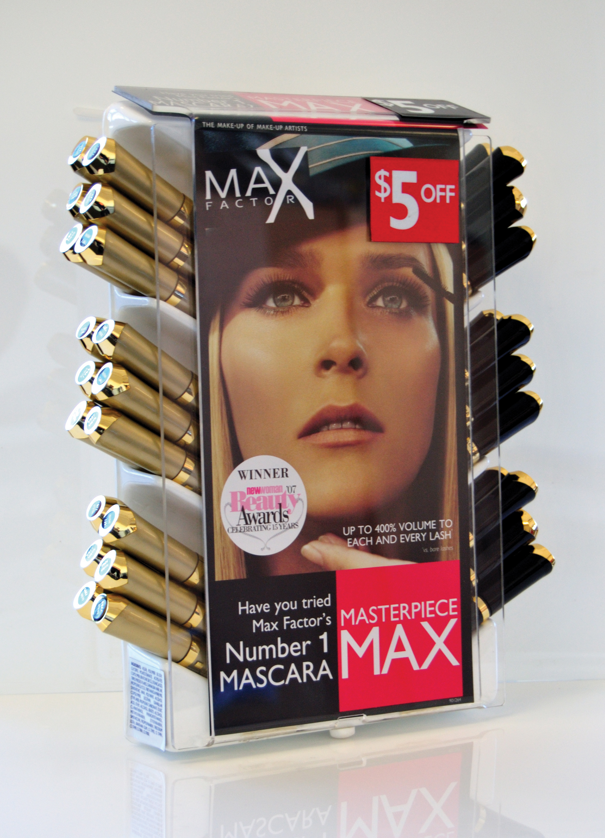 MaxFactor till ringer