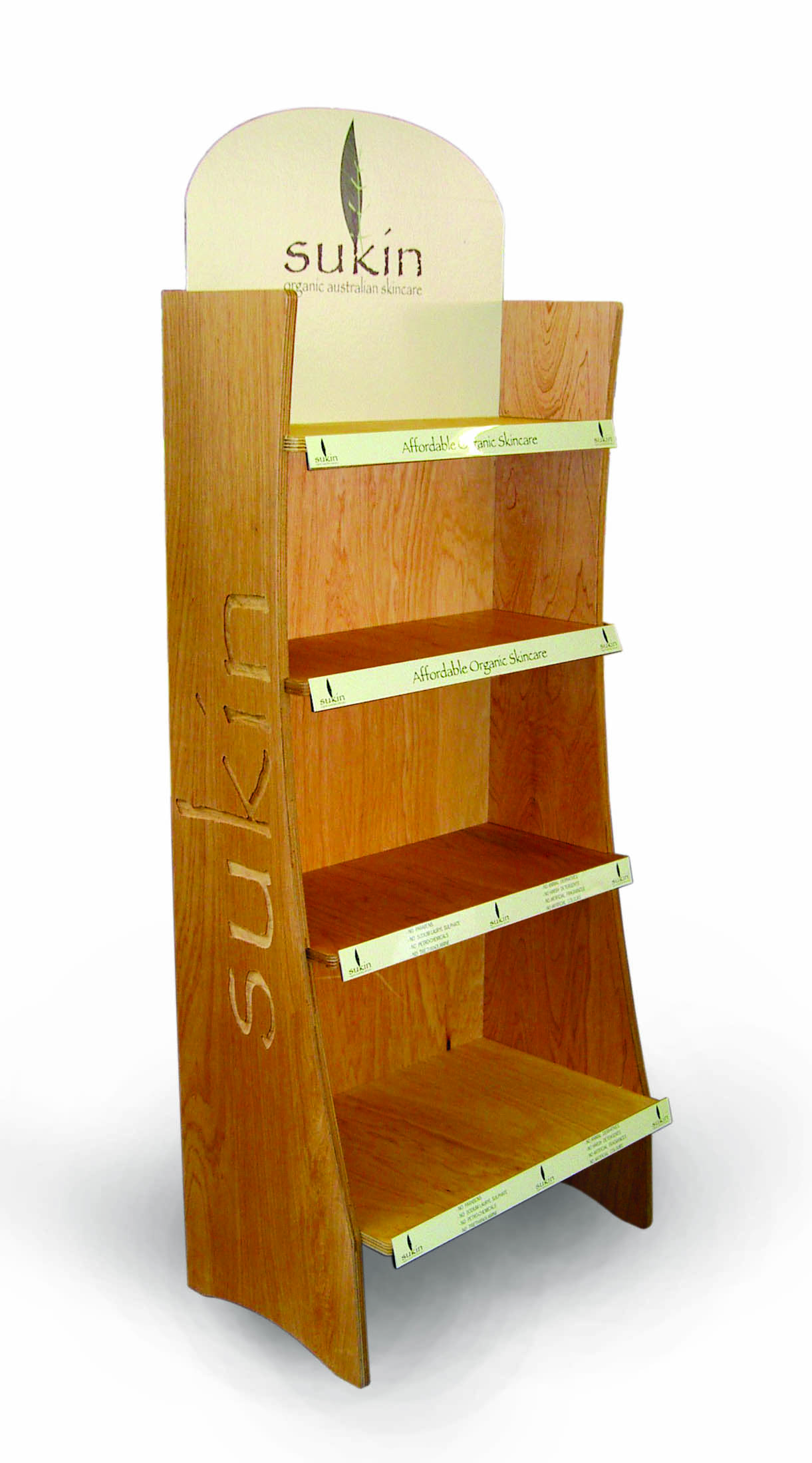 Sukin Display stand