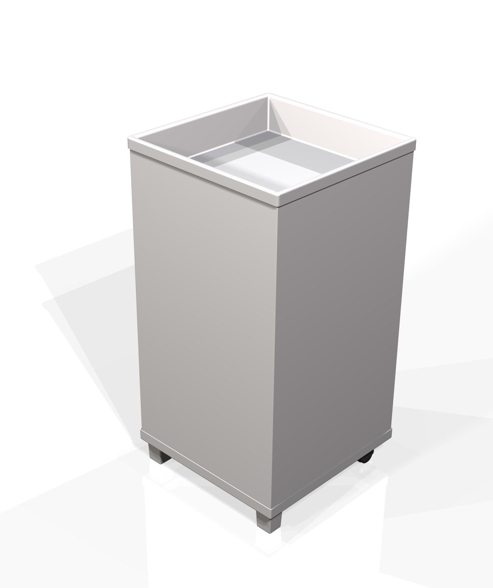 Generic open dump bin