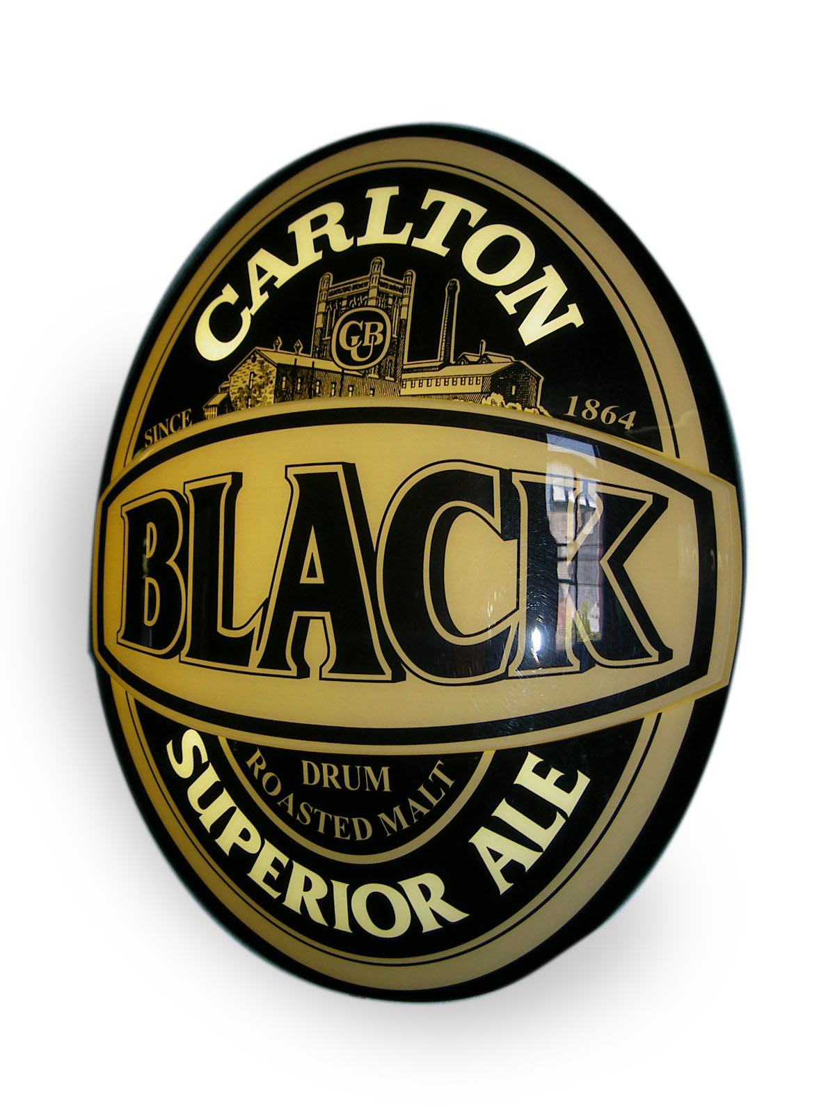 Carlton Black lightbox