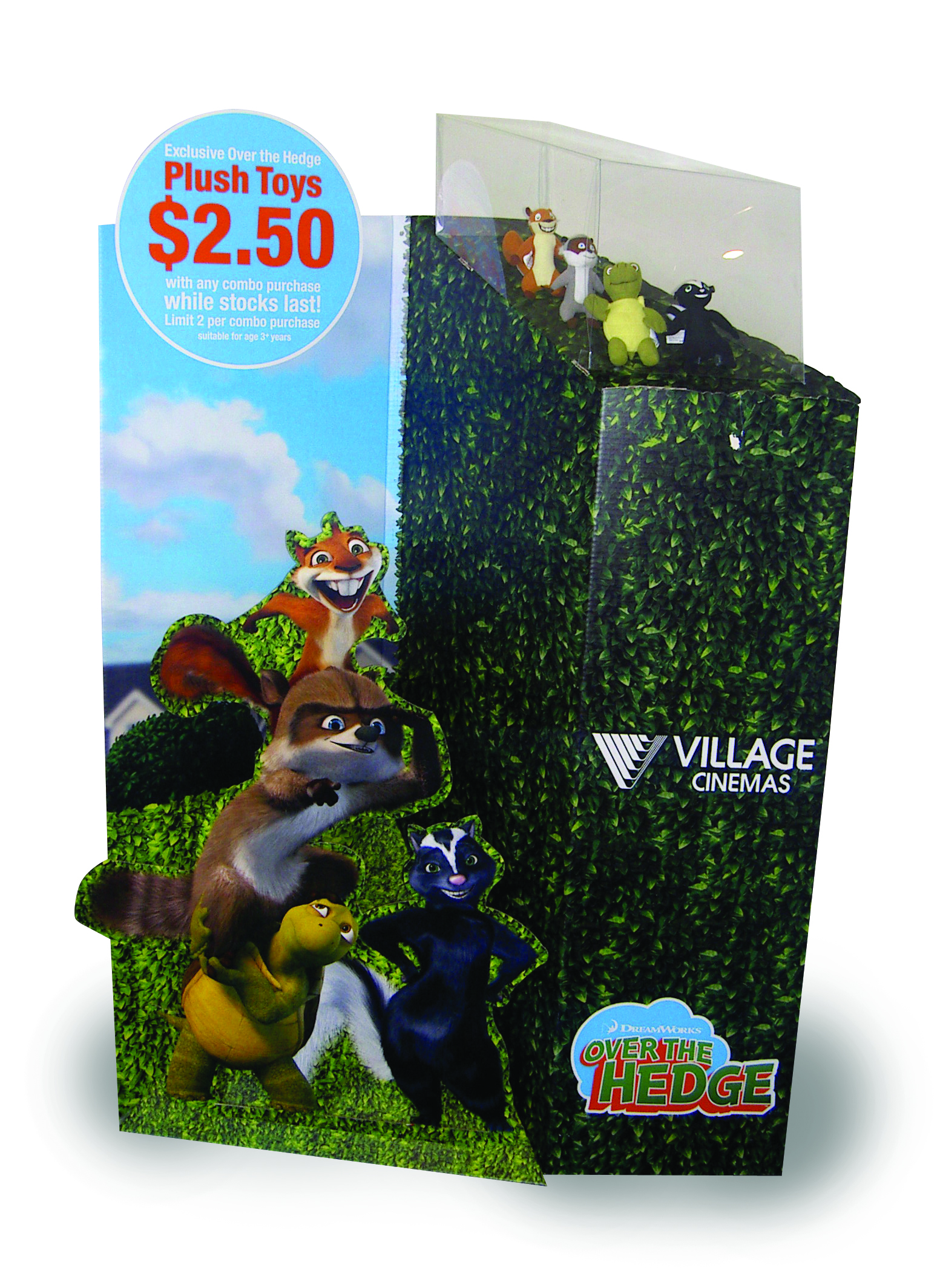 Over the Hedge movie promo