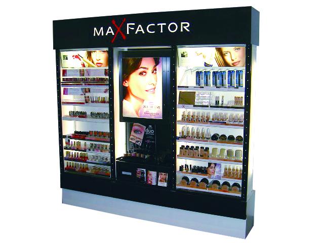 Maxfactor wall unit