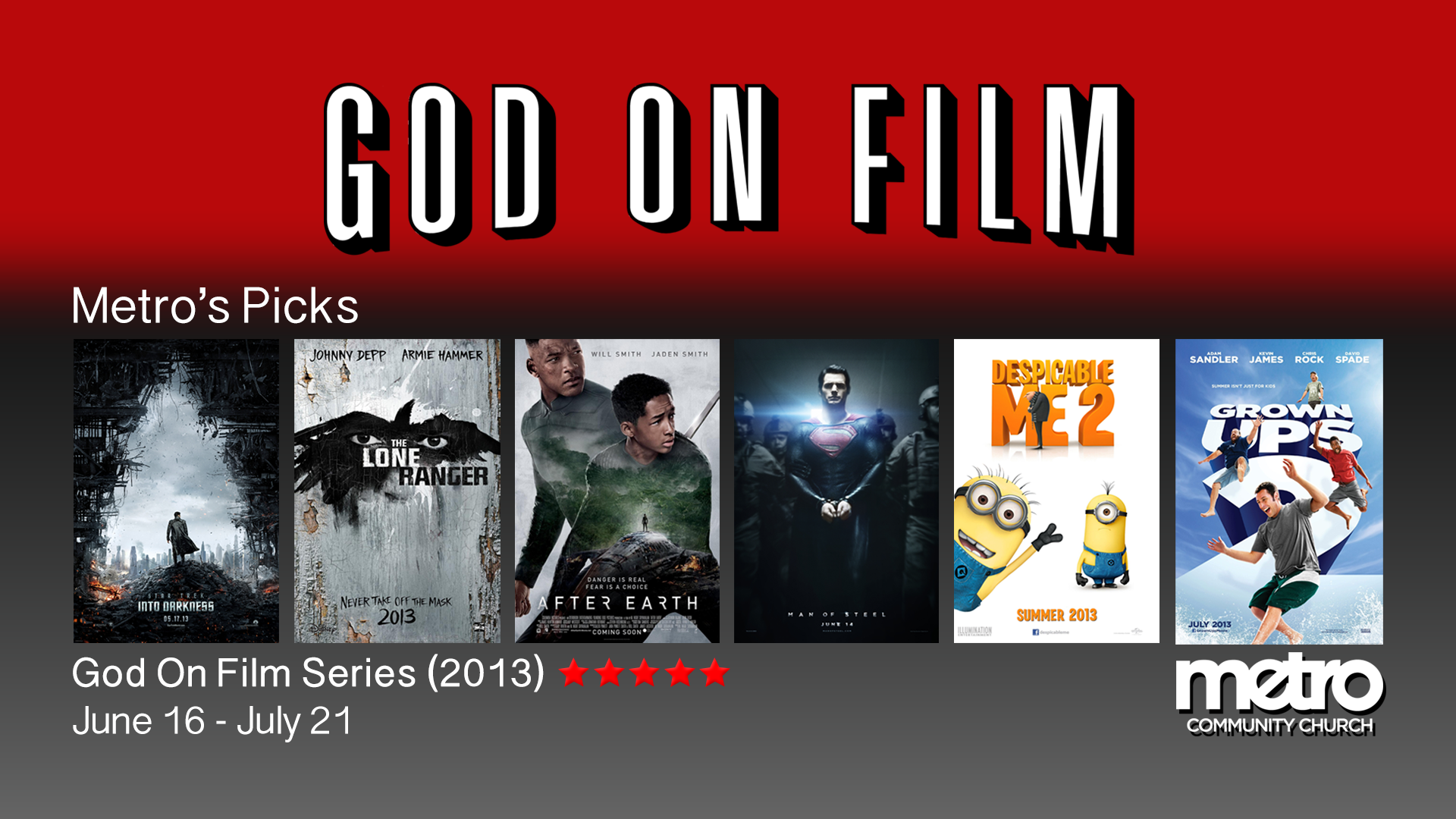 God On Film 2013