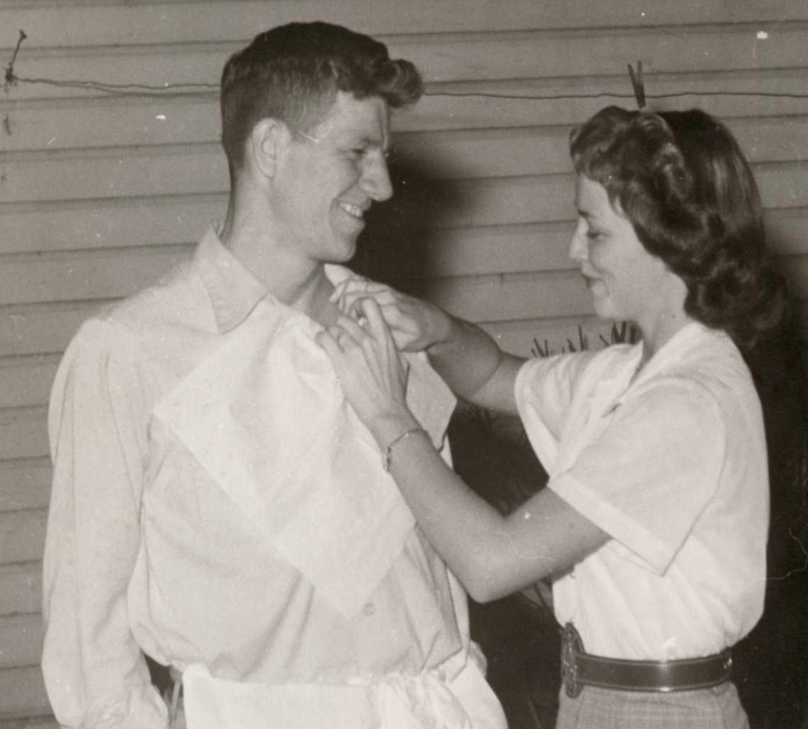 Patti's parents, Jimmy and Betty Baldwin. Together they modeled mutual respect, love, and submission in their marriage - something very counter to what the Church as well as society was espousing at the time.