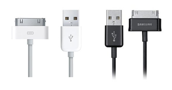 apple-iphone-usb-cable-2007-vs-samsung-galaxy-tab-usb-cable-2010.jpg