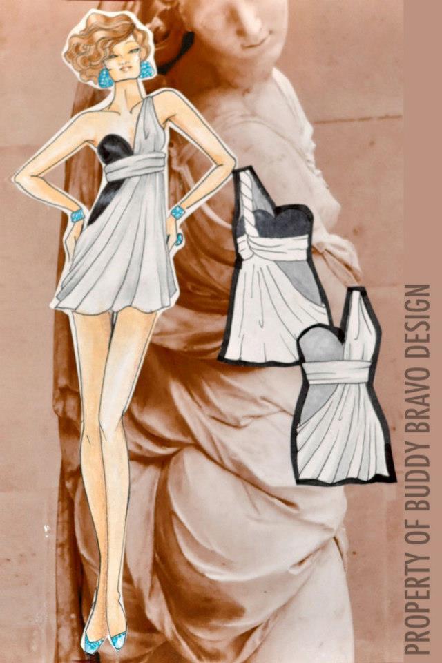 'Veiled Venus: Gown 7'