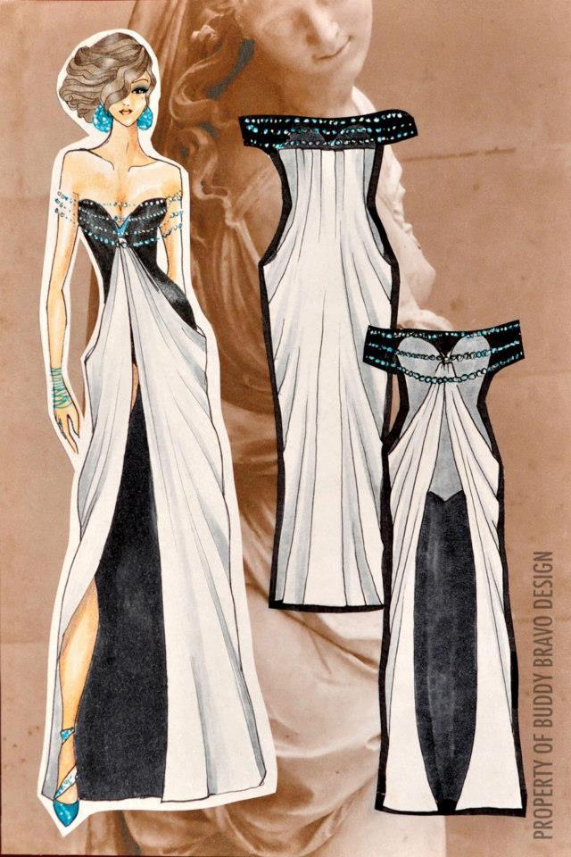 'Veiled Venus: Gown 3'
