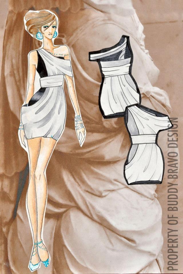 'Veiled Venus: Gown 5'