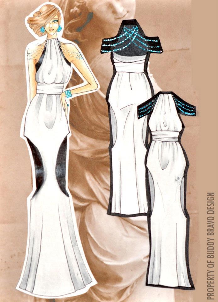 'Veiled Venus: Gown 6'