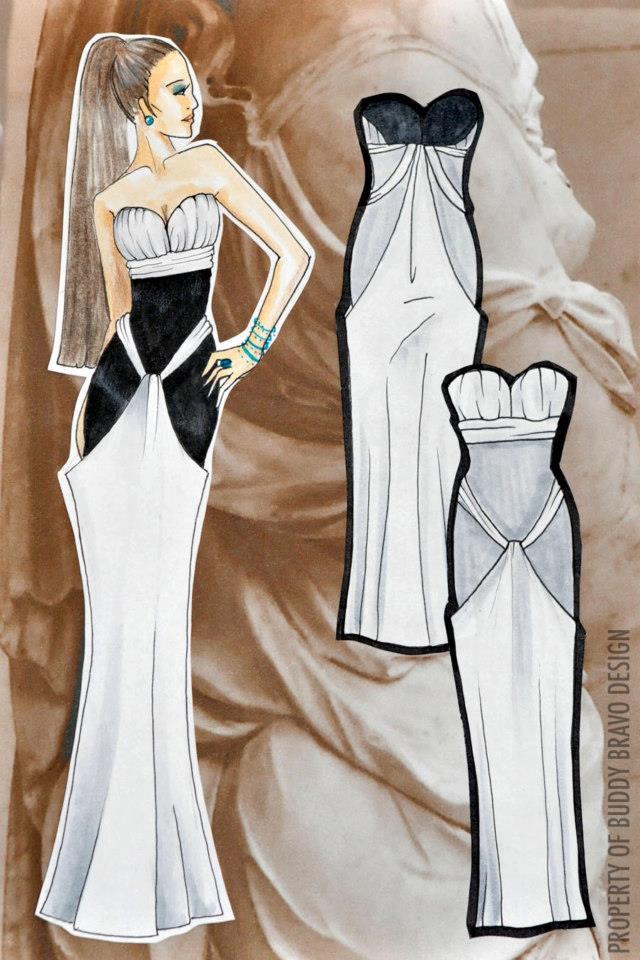 'Veiled Venus: Gown 4'