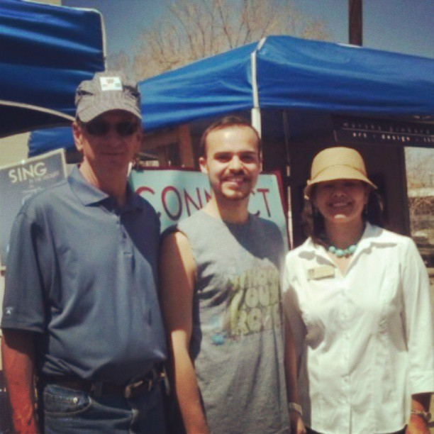 With Bob Murphy, the Mayor of Lakewood and Cindy Baroway of Lakewood City Council