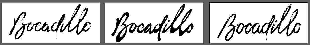 Logo Process + Unused Alternative