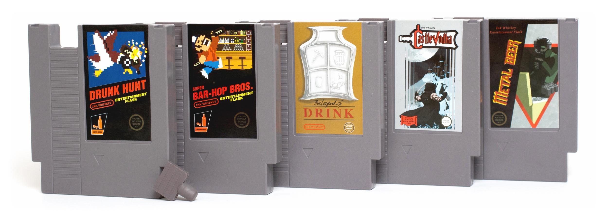 Collector's Pack: Drunk Hunt, Bar-Hop Bros., The Legend of Drink, CastleVodka, Metal Beer