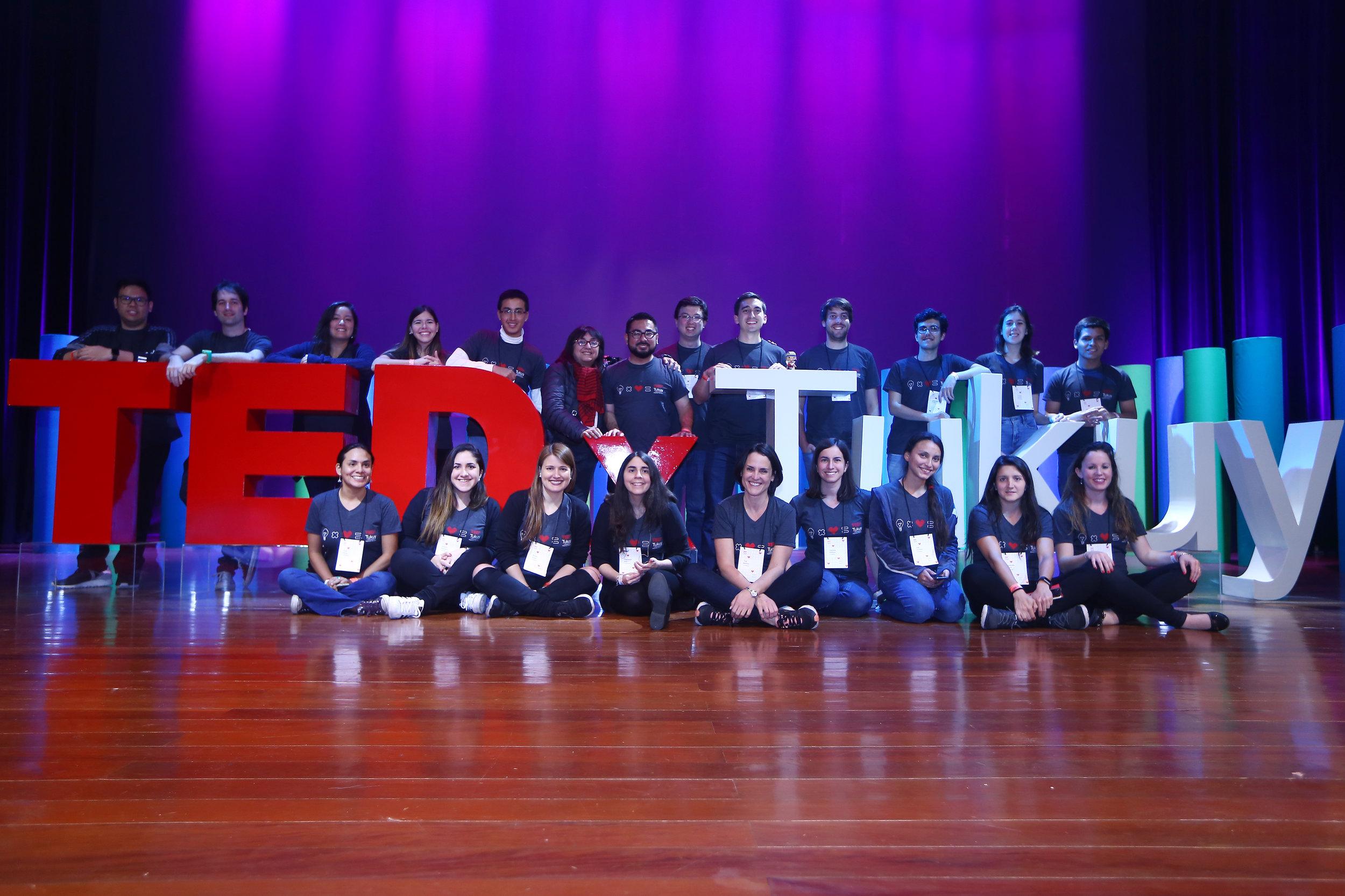 Equipo en TEDxTukuy 2017