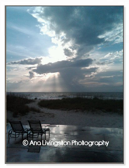 """Eldorado Thunderhead"", North Clearwater Beach, Florida Photography Copyright © 2014 by Ana Livingston. All Rights Reserved"