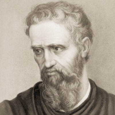 Renaissance master, Michelangelo di Lodovico Buonarroti Simoni – 6 March 1475–18 February 1564