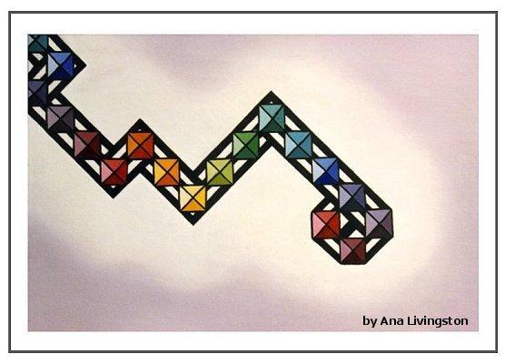 """""""Descension"""", Oil on Canvas, 24""""x36"""""""
