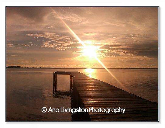 """Dunedin Dock"", Photograph from Dunedin, Florida"