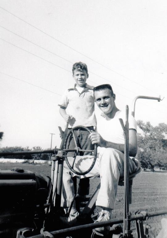 Ron Brandon and Joe