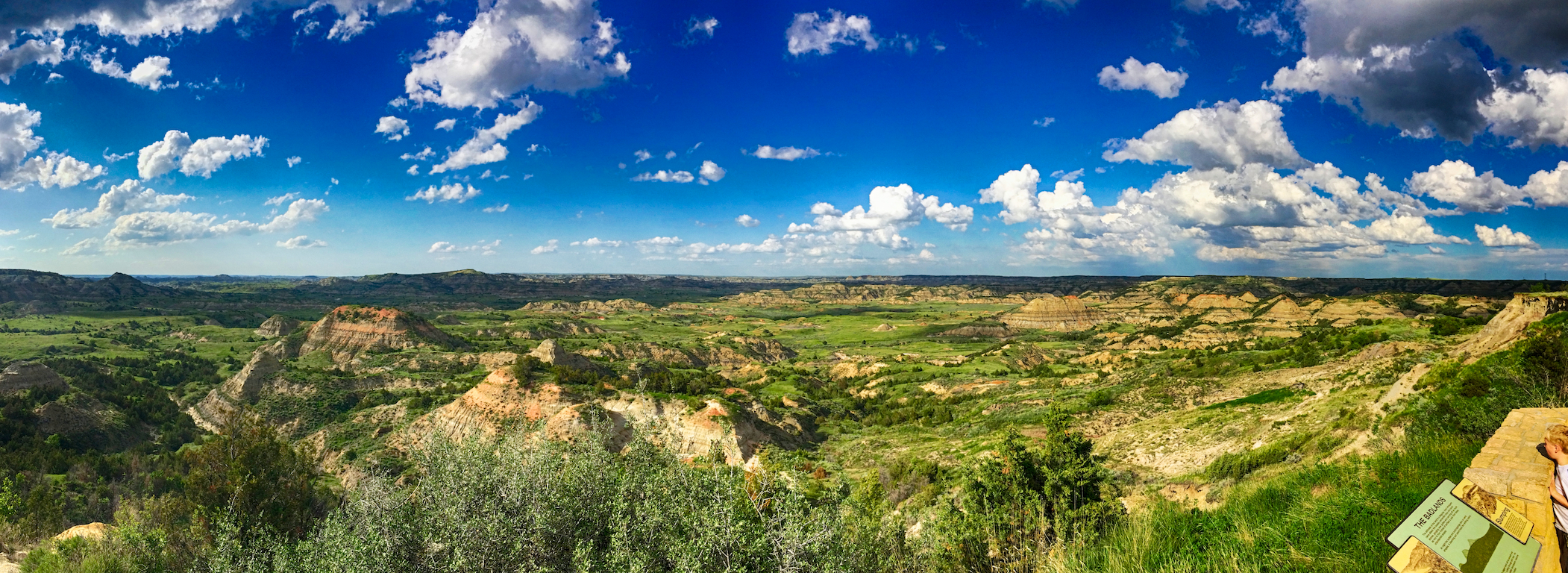 Painted Canyon Theodore Roosevelt National Park, N