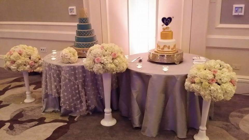 Reception - Cake Table Decor
