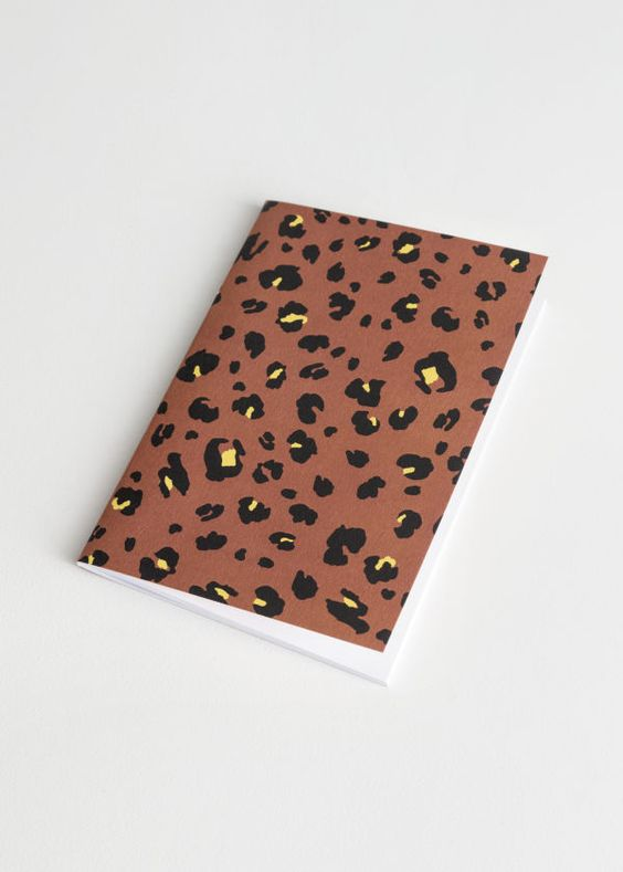 Leopard Journal $10 - Note taking just got more fun.