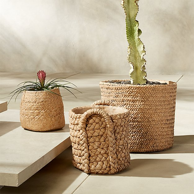 planters that please. $24.95 and up -