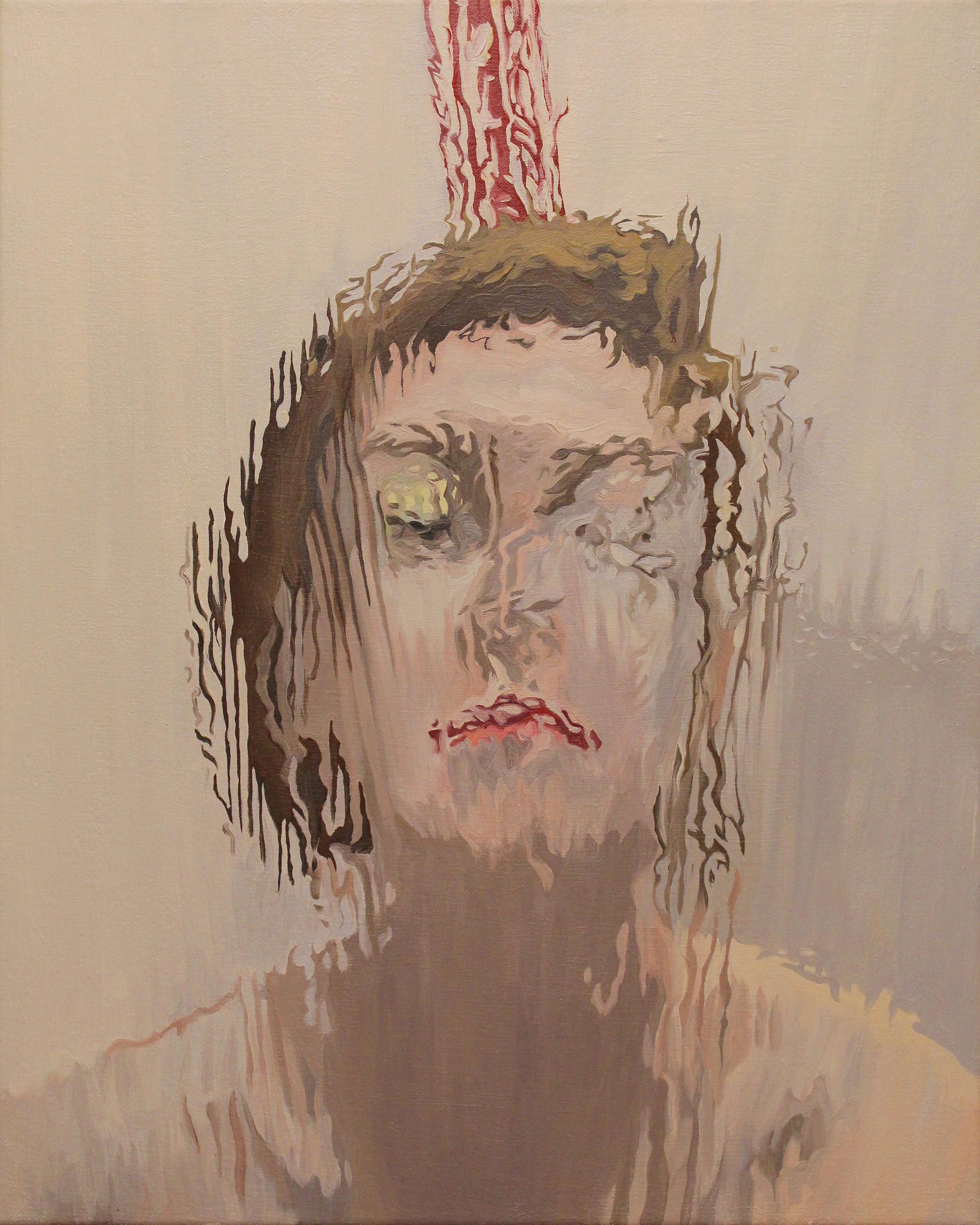 "8. Tara. 20""x16"". Oil on Canvas. 2017."