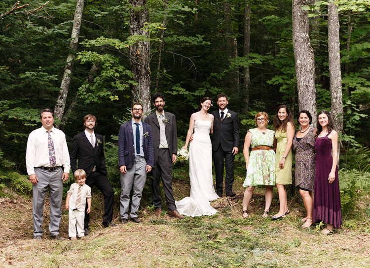 Upper Pennisula Woodsy Wedding