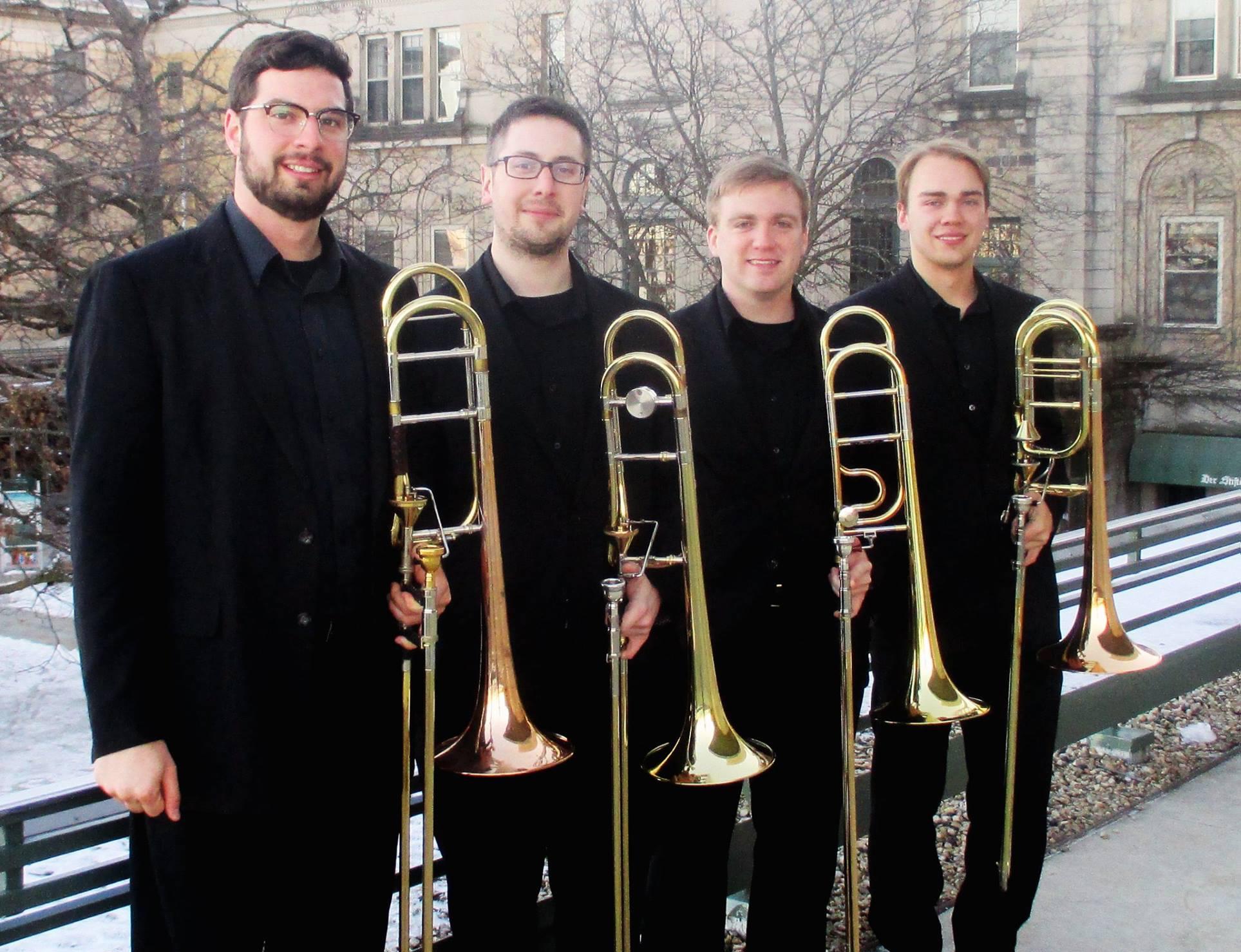 University of Wisconsin-Madison Trombone Quartet