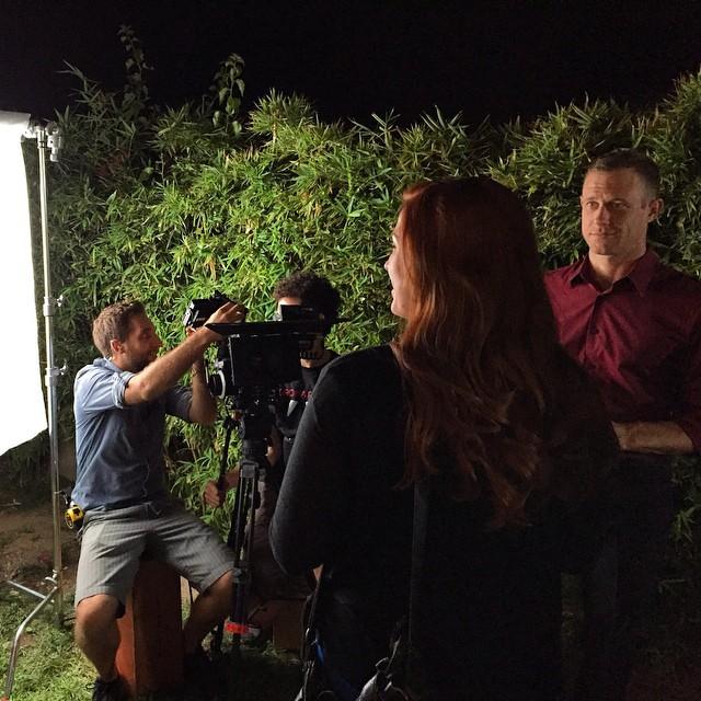 Keeping it classy on set here at #1020films #markandeve #onset #actorsgonnaact #cameradepot