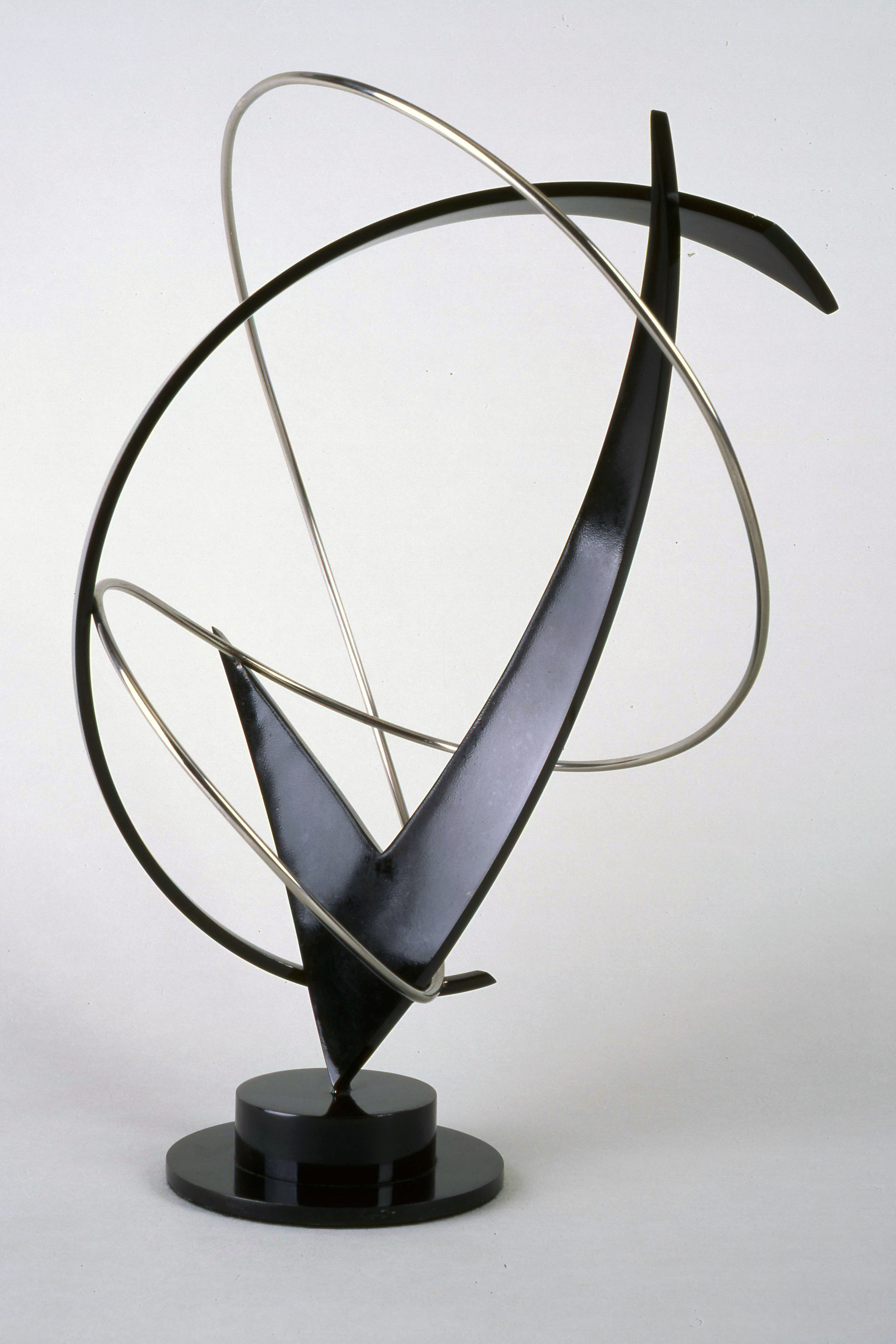 Entropy Series #27, steel and stainless steel