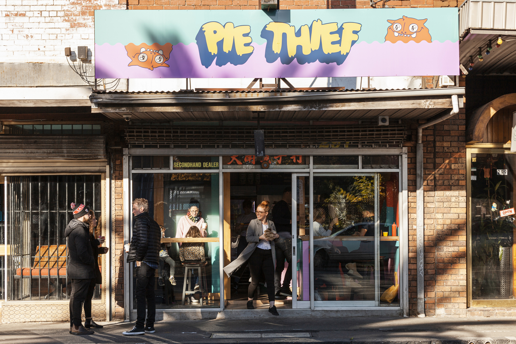 Pie Thief - Broadsheet
