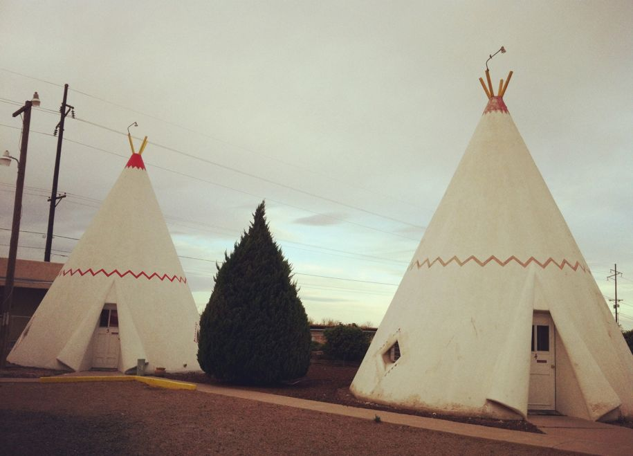 The Wigwam Motel in Holbrook.