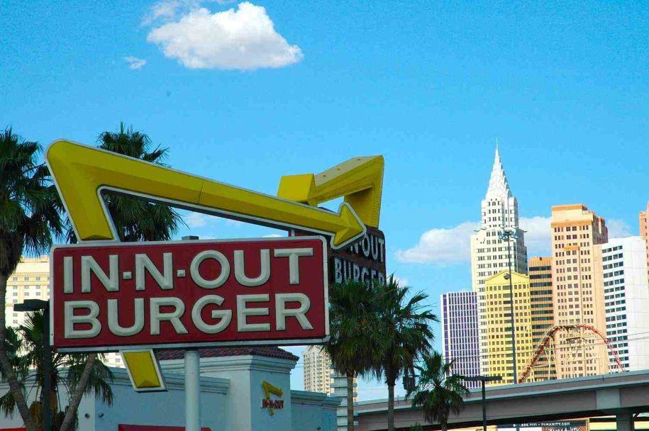 In-n-Out Burger in Las Vegas.