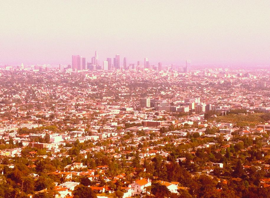 View over Los Angeles.